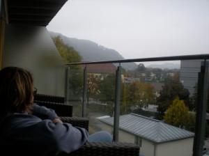Castellani Parkhotel balcony view